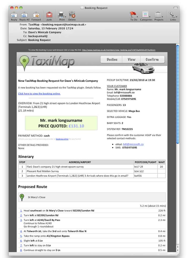 TAXI BOOKING Process | TaxiMap Blog
